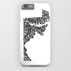 Typographic Maryland Slim Case iPhone 6s