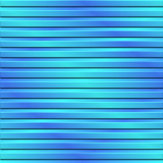 Two Color 3D Slats Art Print