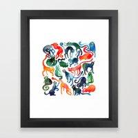 Cats United Framed Art Print