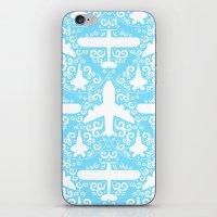 Aircraft Damask iPhone & iPod Skin