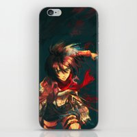Worth a Hundred Soldiers iPhone & iPod Skin