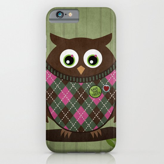 Save the trees iPhone & iPod Case
