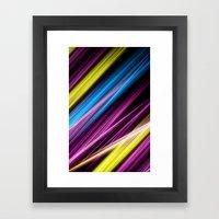 Linee E Colori Framed Art Print