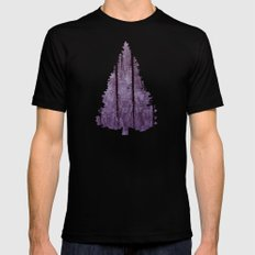 Water Trees - JUSTART © Mens Fitted Tee SMALL Black
