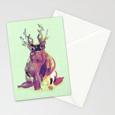 Party Hard Like a Bear Stationery Cards