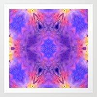 Sky Flower Art Print