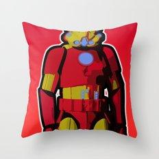 iron trooper Throw Pillow