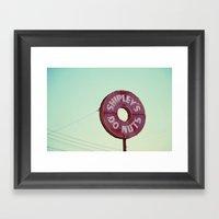 Shipley's Donuts Framed Art Print