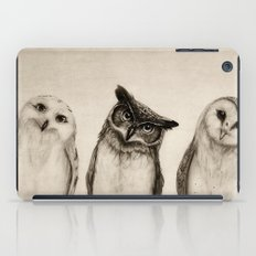 The Owl's 3 iPad Case