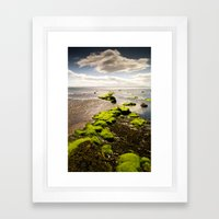 Away to the Sea Framed Art Print