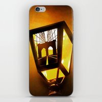 Brooklyn Bridge Lantern iPhone & iPod Skin
