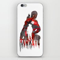 Hawkeye Print iPhone & iPod Skin