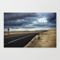 Road To Isolation Canvas Print