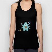 Multitasking Monster Unisex Tank Top