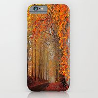 iPhone & iPod Case featuring Autumn Parade by Robin Curtiss
