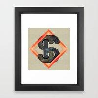 S6:  Society6 Universe Framed Art Print