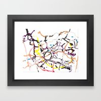 Path of Least Resistance Framed Art Print