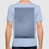 moody + dramatic Mens Fitted Tee Athletic Blue SMALL