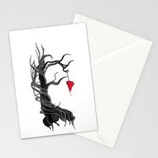 Love, like a tree Stationery Cards