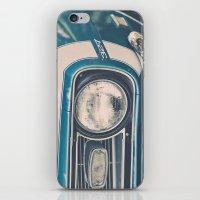Blue Classic Camaro iPhone & iPod Skin