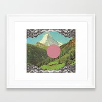 Framed Art Print featuring Untitled by Katty Bouthier