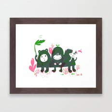 Three Hills Framed Art Print