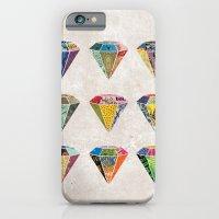 Diamonds Collage iPhone 6 Slim Case
