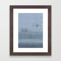 Crystal City Framed Art Print