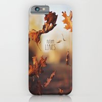 Autumn leaves as quickly as it arrives. iPhone 6 Slim Case