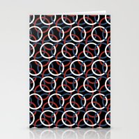 Olympica Black Stationery Cards