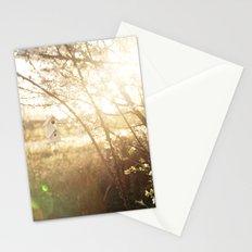 a little birdhouse Stationery Cards