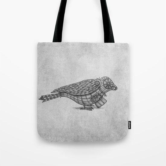 Clockwork Bird  Tote Bag