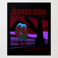 The Overlook Hotel Art Print