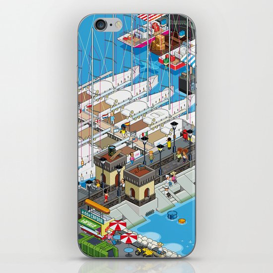 see Naples and then die! iPhone & iPod Skin
