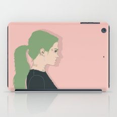 Green Lady iPad Case