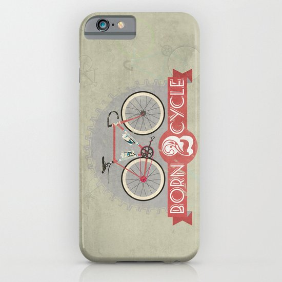 Born To Cycle iPhone & iPod Case