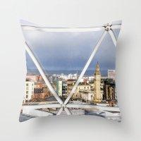 Belfast - Northern Ireland Throw Pillow