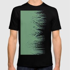 Cuban Palm SMALL Mens Fitted Tee Black