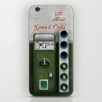 Speed Cola iPhone & iPod Skin