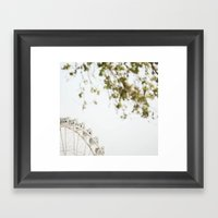 the wheel Framed Art Print