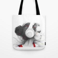 MUSIC - Pencil Portrait … Tote Bag