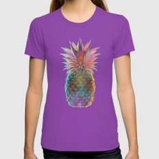 Pineapple Express Womens Fitted Tee Ultraviolet SMALL