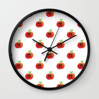 Apple Cutie Wall Clock