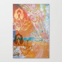 AnJali Mudra Canvas Print
