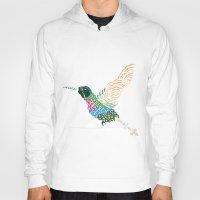 Abstract Hummingbird ~ G… Hoody