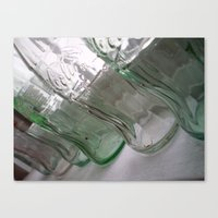 Bottles  Canvas Print