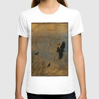 A Vintage Flight Of The … Womens Fitted Tee White SMALL