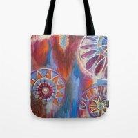 Abstract Mandalas Tote Bag