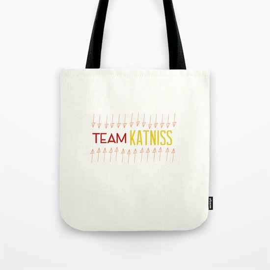 Team Katniss Tote Bag