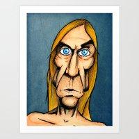 Iggy Pop Art Print
